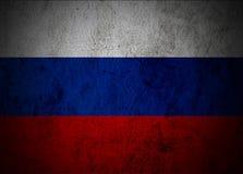 De vlag van Rusland. Stock Afbeelding