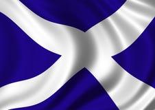 De vlag van Saltire Stock Afbeeldingen