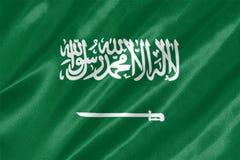 De Vlag van Saudi-Arabië vector illustratie