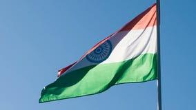 De Vlag van de staat van India stock video