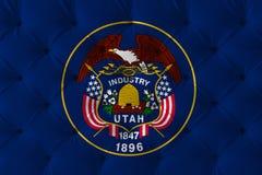 De Vlag van de Staat van Utah royalty-vrije stock foto's