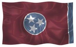 De vlag van de staat van de V.S. van Tennessee royalty-vrije illustratie