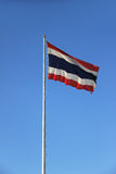 De vlag van Thailand royalty-vrije stock foto