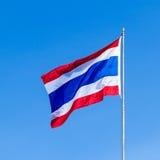 De vlag van Thailand Royalty-vrije Illustratie