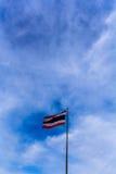 De Vlag van Thailand stock afbeelding