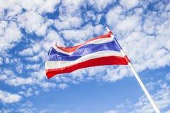 De Vlag van Thailand Royalty-vrije Stock Foto's