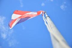 De Vlag van Thailand Royalty-vrije Stock Afbeelding