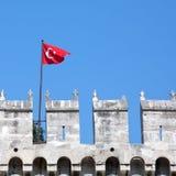 De vlag van Turkije Royalty-vrije Stock Foto