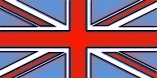 De Vlag van Union Jack Royalty-vrije Stock Foto's