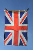 De Vlag van Union Jack Stock Foto's