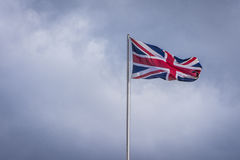 De Vlag van Union Jack Stock Foto