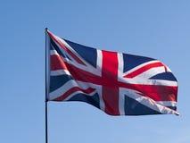 De Vlag van Union Jack Stock Afbeeldingen