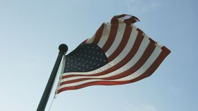 De vlag van de V Stock Afbeelding