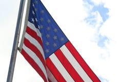 De vlag van de V royalty-vrije stock afbeeldingen