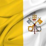 De Vlag van Vatikaan Royalty-vrije Stock Afbeelding