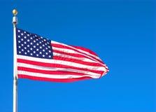 De Vlag van Verenigde Staten royalty-vrije stock afbeelding