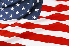 De vlag van Verenigde Staten Stock Afbeelding