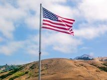 De Vlag van de Verenigde Staten van Amerika royalty-vrije stock foto