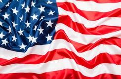 De vlag van Verenigde Staten de V.S. Stock Afbeeldingen
