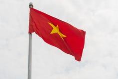 De vlag van Vietnam Royalty-vrije Stock Afbeeldingen
