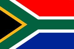 De vlag van Zuid-Afrika 2 stock illustratie