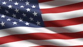 De vlagachtergrond van de V.S. Royalty-vrije Stock Afbeeldingen