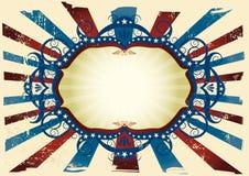 De vlagachtergrond van staten Royalty-vrije Stock Foto's