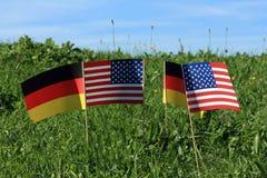 De vlaggen Stock Foto
