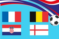 De vlaggen bij shenzhen conference&conventioncentrum Stock Afbeelding