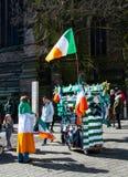 De vlaggen en de sjaals van Ierland royalty-vrije stock afbeelding