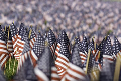 De Vlaggen van de V.S. Stock Foto's