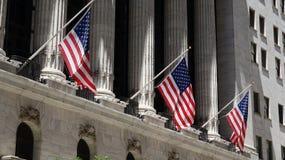 De Vlaggen van de Verenigde Staten van Amerika Royalty-vrije Stock Foto's