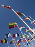 De vlaggen van de wereld Stock Afbeelding