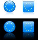 De Vlaggen van de wereld: Europese Unie Royalty-vrije Stock Fotografie