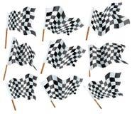 De vlaggen van Formule 1 Stock Foto's