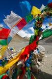 De Vlaggen van het gebed Stock Fotografie