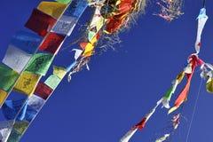 De vlaggen van het gebed Royalty-vrije Stock Foto's