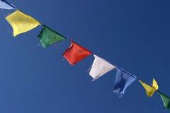 De vlaggen van het gebed Stock Foto's
