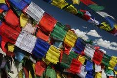 De vlaggen van het gebed Royalty-vrije Stock Afbeelding