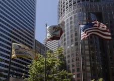 De vlaggen van San Francisco stock foto