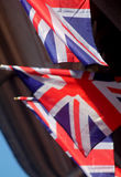 De Vlaggen van Union Jack Royalty-vrije Stock Foto
