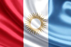 De vlagillustratie van Cordoba vector illustratie