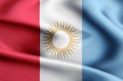De vlagillustratie van Cordoba stock illustratie