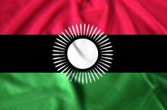 De vlagillustratie van Malawi royalty-vrije illustratie