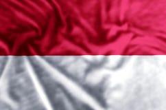 De vlagillustratie van Monaco vector illustratie