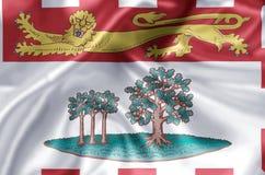 De vlagillustratie van Prins Edward Eilanden stock illustratie