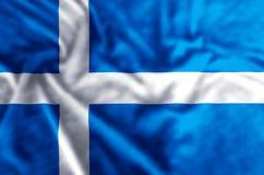 De vlagillustratie van Shetland royalty-vrije illustratie