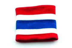 De vlagmanchet van Thailand Royalty-vrije Stock Foto