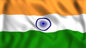 De vlagsymbool van India van India royalty-vrije illustratie