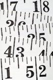 De vlakke Centimeter van de Kleermaker Royalty-vrije Stock Afbeeldingen